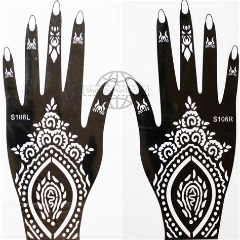 henna tattoo schablone 25 best ideas about henna schablonen on henna