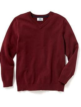 Ic Sweater Boy Maroon v neck sweater for boys navy canada