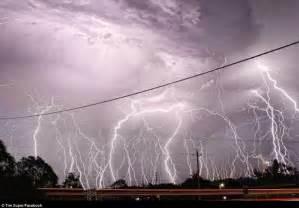 Lightning Strikes Car In Australia Lightning Hits Western Australia After Queensland