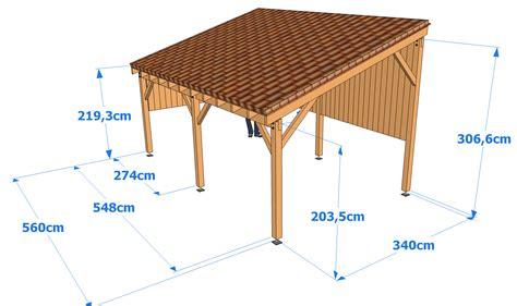 Comment Construire Un Carport Plan by Construire Un Carport Bois