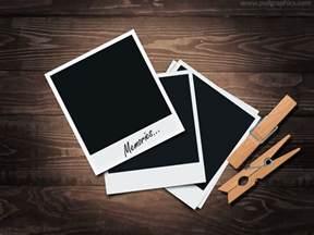 polaroid frame template retro polaroid frames psd plus tutorial psdgraphics