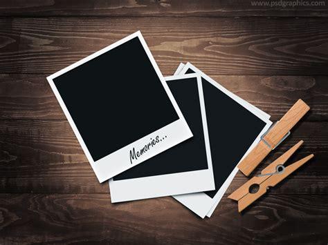 tutorial photoshop frame retro polaroid frames psd plus tutorial psdgraphics