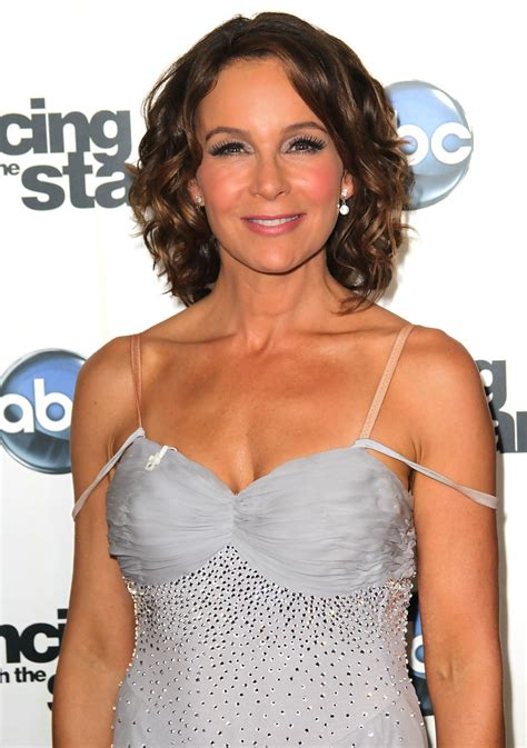 hairstyles of the stars over 50 jennifer grey s curly ringlets haute hairstyles for