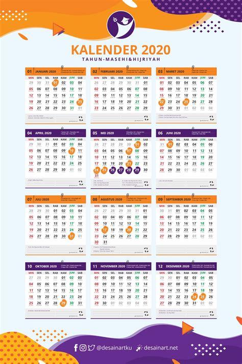 kalender masehi hijriyah  desainart