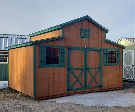 rancher style shed sturdy built sheds