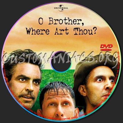 Dvd O Where Thou o where thou dvd label dvd covers labels