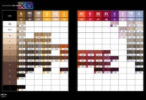 paul mitchell pm shines color chart paul mitchell the color xg color chart color charts