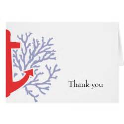 nautical thank you card zazzle