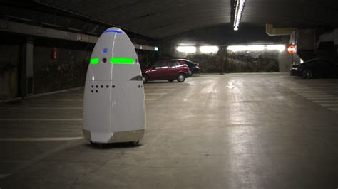 Parking Lot Robot by Robot Security Guards Coming To A Parking Lot Near You