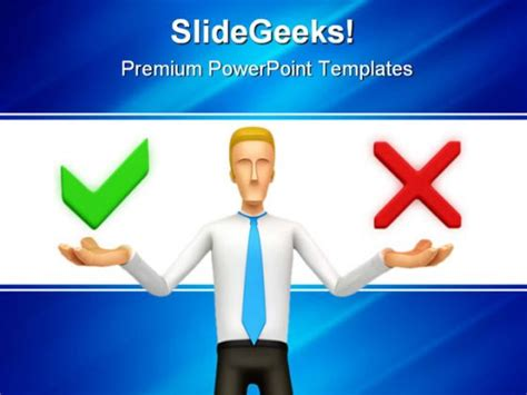 Right Wrong Finance Powerpoint Template 0810 Price Is Right Powerpoint Template