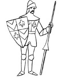 knight coloring pages coloringpagesabc