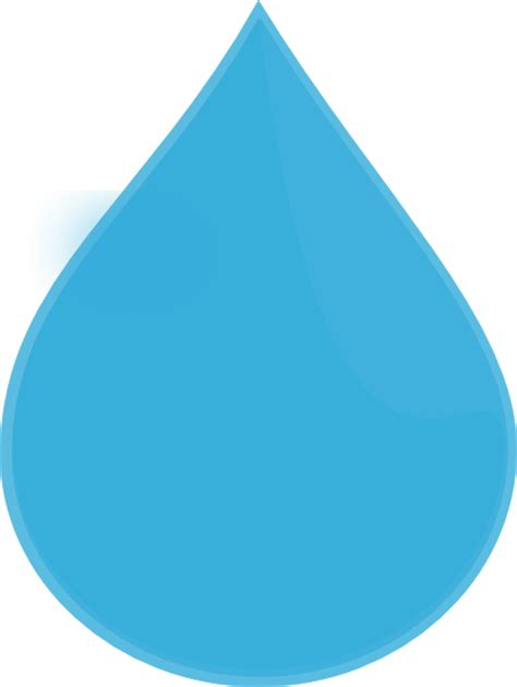 Water Drop Clipart blue water drop clip at clker vector clip