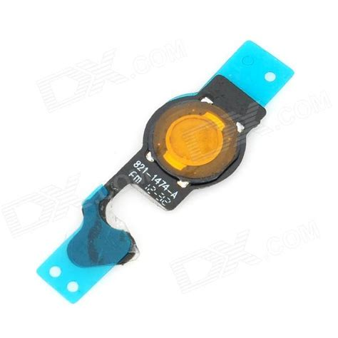 replacement home button flex cable for iphone 5 black