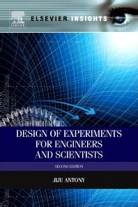 design of experiment book design of experiments for engineers and scientists 2nd