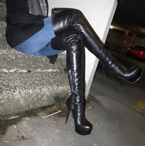 going out for dinner in cancellieri thigh high boots flickr