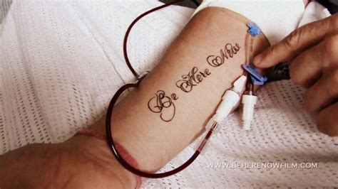 be here now tattoo be here now is all about being present and not