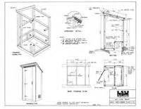 outhouse floor plans build an outhouse 30 free outhouse plans at planspin com