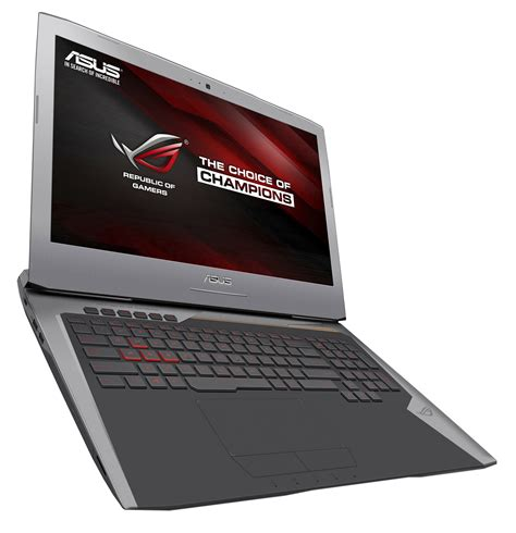 Laptop Asus G752vs asus rog g752vs 7700hq gtx 1070 fhd laptop review notebookcheck net reviews