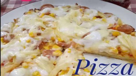 cara membuat pizza menggunakan wajan cara membuat pizza nasi telur di teflon youtube