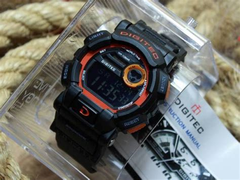 Digitec Dg 2079 Black Orange jam tangan digitec dg 2079t original