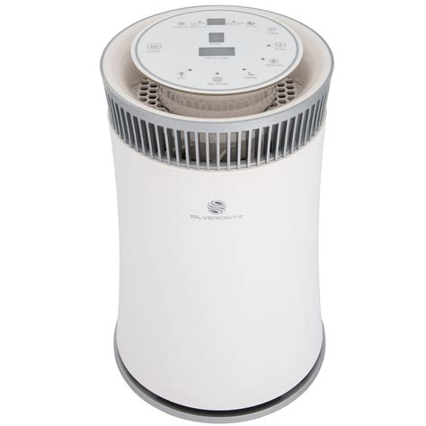 silveronyx air purifier with true hepa filter soairpurifier5swhite2 walmart
