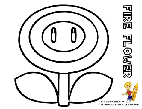 mario fire flower coloring page mario pictures to color 119 super mario coloring fire