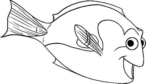 dory fish coloring page dory coloring sheet coloring pages