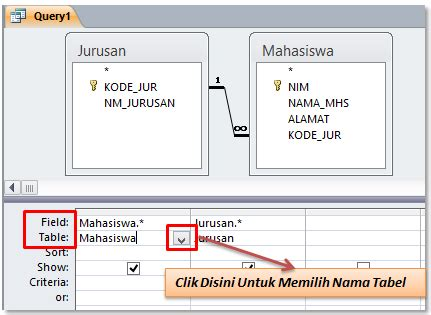 membuat query update di access cara mudah membuat query di microsoft access sul ilmu