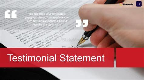 case study testimonials powerpoint slide slidemodel