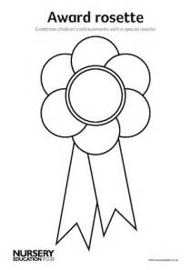 Rosette Template Printable by Award Rosette Early Years Teaching Resource Scholastic