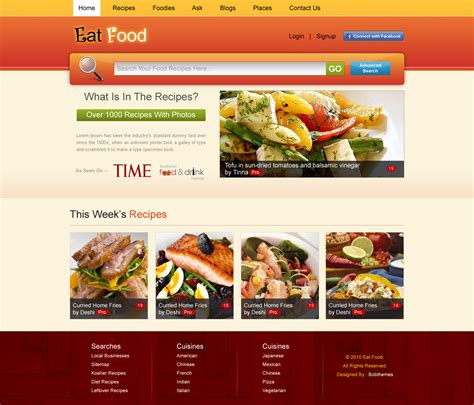food drink layout rsquare web services chainimage