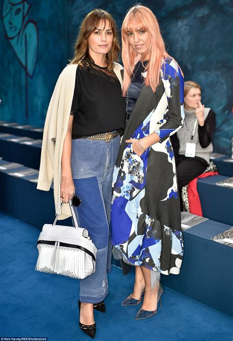 The Daily Mail Uk Fashion by Le Bon And Yasmin Look More Like At
