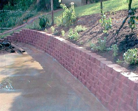 landscaping blocks size of brick edging metal
