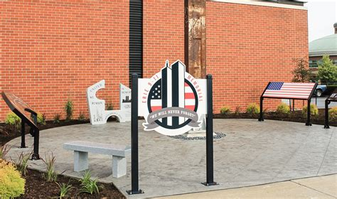Memorial Mba by Howard Industries Creates Signage For Local 9 11 Memorial