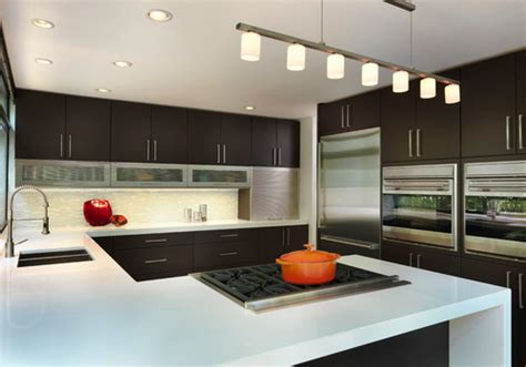 sleek appliance garage contemporary kitchen appliance garage door