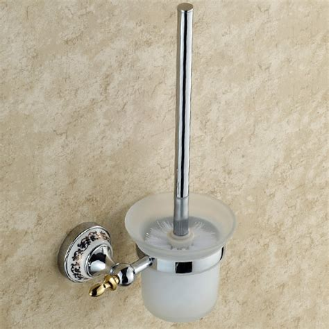 solid brass bathroom accessories bathroom accessories solid brass toilet brush holder