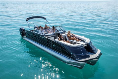 crest pontoon boats crest boats for sale boats