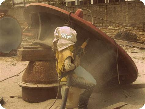 Pompa Grease Pakai Angin cara dan perlengkapan sand blasting mang yono