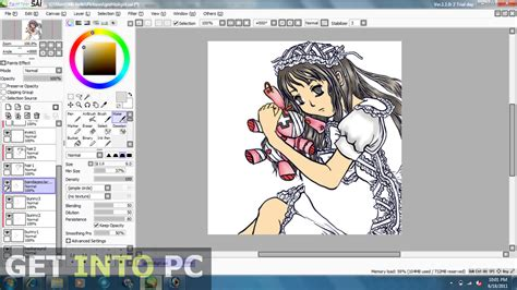 paint tool sai version free no trial paint tool sai