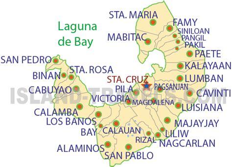 map of laguna anillla