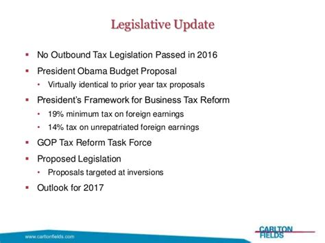 florida bar tax section 2017 int l tax conf outbound update slides lrk cf