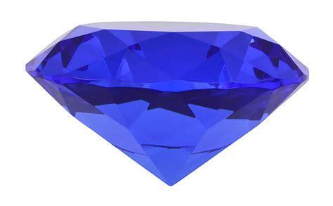 Glass Sapphire 10cm   Fake Gem Stones Silver Gold