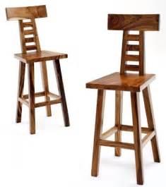 contemporary rustic bar stools solid wood bar stool