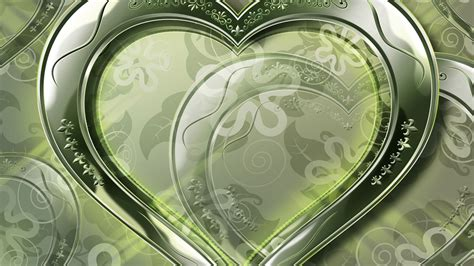 wallpaper crystal green crystal green love heart wallpaper 1920x1080 full hd
