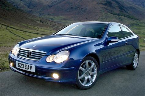 Mercedes Sports Coupe by Mercedes C Class Sports Coup 233 Review 2001 2008