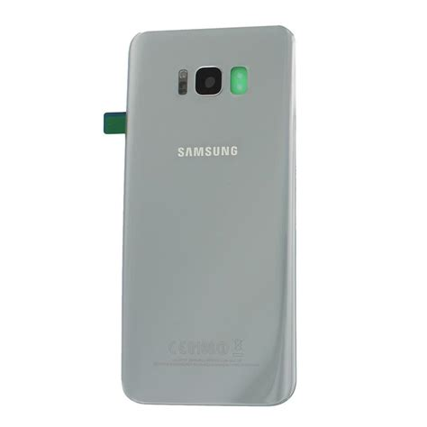 Sparepart Samsung S8 samsung sm g955f galaxy s8 battery cover silver mobile