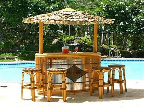 outdoor bars furniture tiki bar ideas around pool outdoor