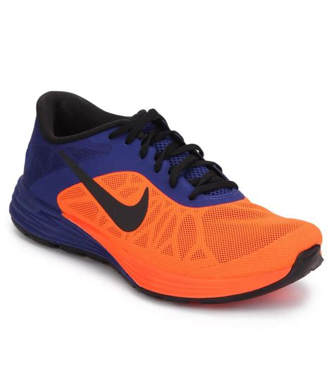 nike lunar launch orange sports shoes buy nike lunar