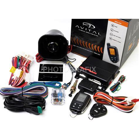 Alarm Two Way avital 5305l 2 way remote auto car start starter alarm