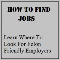 felony friendly housing resources for felons help for felons